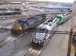 CSX 59, Gray & Green leased units